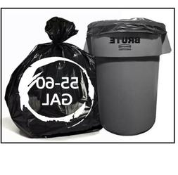 150 Large 13, 30, 39, 45 Or 55 - 60 Gallon Trash Bags Heavy