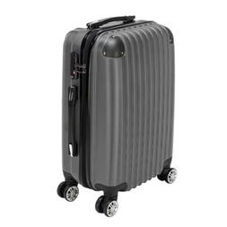 """20"""" ABS Luggage Travel Set with 4 Wheels Bag Trolley Case Ca"""
