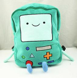 Adventure Time BMO Beemo 15 inch Plush Large Backpack Book B