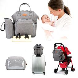 Baby Diaper Nappy Bag Backpack for Mom and Dad Travel Should