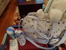 Baby Snoopy Diaper Bag with Accessories