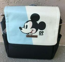 Petunia Pickle Bottom Boxy Backpack in Mickey's 90th Blue Co