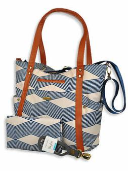 JJ Cole Bucket Tote Diaper Bag with Changing Pad