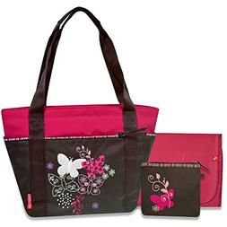 Fisher-Price Butterfly Embroidery Tote