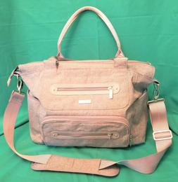 Jj Cole - Caprice Diaper Bag, Large Capacity Tote With Strol