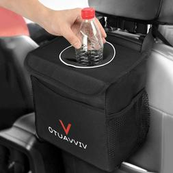 Car Trash Bag Can, Premium Leakproof Litter Garbage Bag for