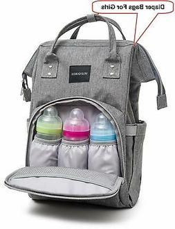 Diaper Bag for Dad Girls and Boys - Baby Backpack with Free