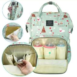 LAND Diaper Mummy Bag Backpack Baby Nappy Organizer Large Ch