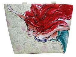 Loungefly Disney Little Mermaid Ariel Watercolor Tote Bag