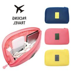 Electronic Accessories Cable USB Drive Organizer Bag Case Po