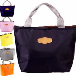 Insulated Lunch Bag Cooler Picnic Travel Food Box Women Tote