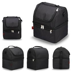 Insulated Lunch Bag, Water-Resistant Lunch Box for Office/Pi