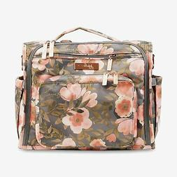 JuJuBe BFF Convertible Messenger Backpack Baby Diaper Bag Wh