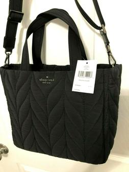 Kate Spade Ellie Small 2 Way Tote Messenger Bag Technical We