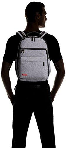 Skip Hop Backpack With Matching Pad, Duo Signature, Grey
