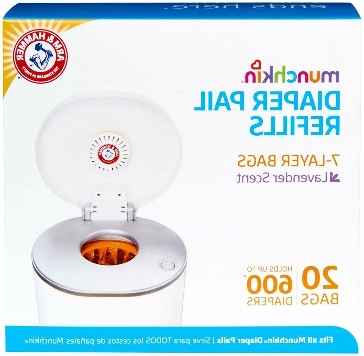 arm and hammer diaper pail snap seal