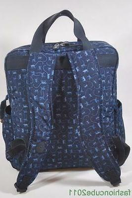 Bag with Changing Pad Blue