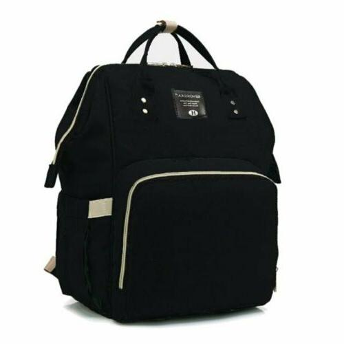Baby Diaper Bag Multi-Function Travel Backpack Baby Nappy Ch