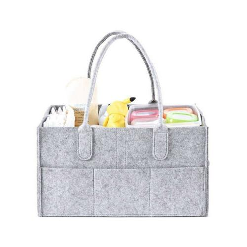 Diaper Organiser, Diaper Caddy Organiser with Cover Nappy Ch