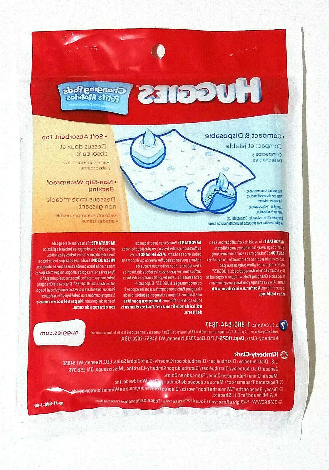 Huggies Disposable 23 Wrapped For Travel Bag