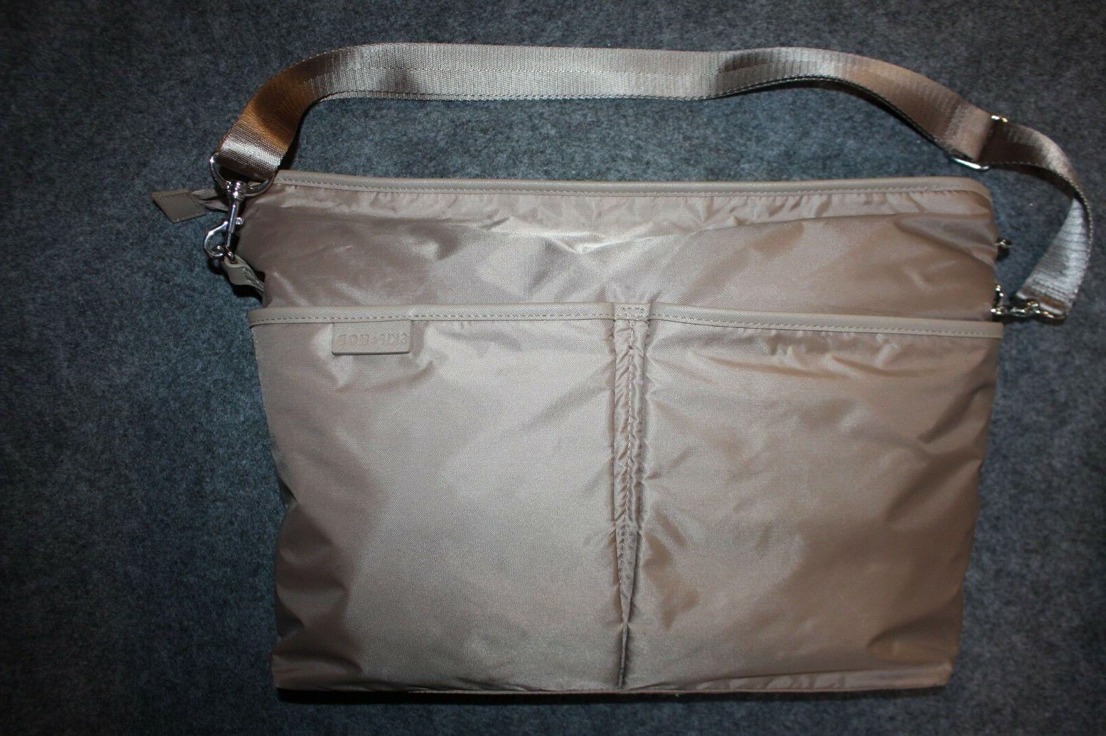 SKIP HOP DUET Crossbody the 2-in-1 Diaper - Taupe