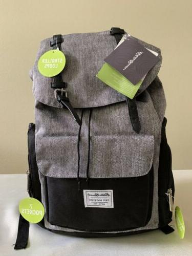 first adventure baby diaper bag with stroller