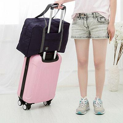 Foldable Duffel Luggage Travel Pouch Tote Worth