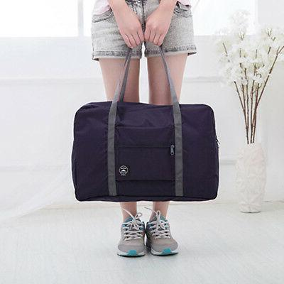 Foldable Large Duffel Luggage Pouch Tote Bag