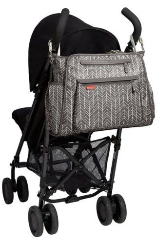 Skip Central Take Tote Grey Feather
