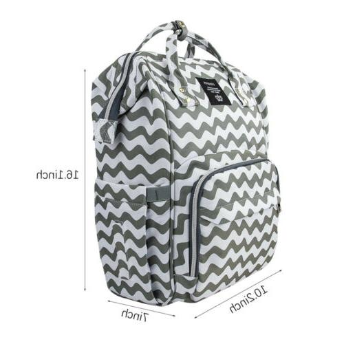 LEQUEEN Diaper Large Baby Changing Backpack