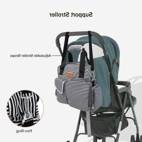 SABLE Mommy Bag Multifunction w/ Baby