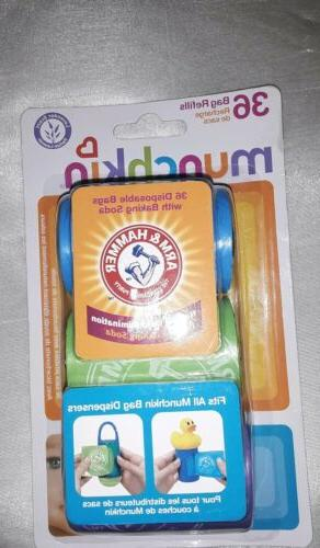 munchkin diaper bag refill infused with baking