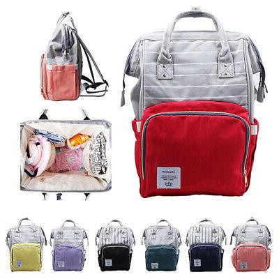 US Baby Diaper Nappy Multifunction Large Capacity Bag Backpa