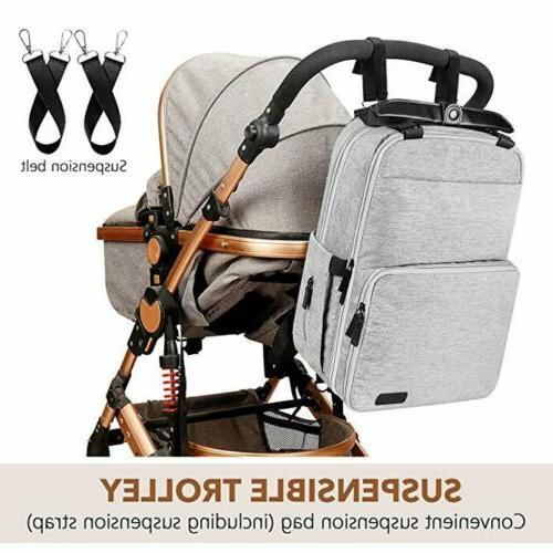 Backpack Baby Travel Pack Mummy Baby Pockets
