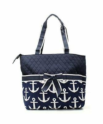 Quilted Nautical Theme Monogrammable