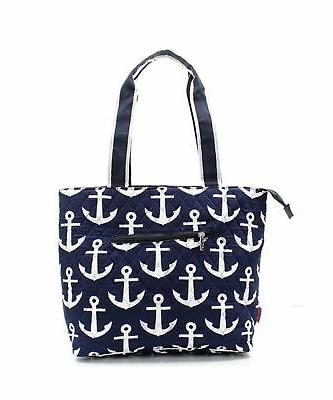 Quilted Nautical Theme Print Monogrammable 3