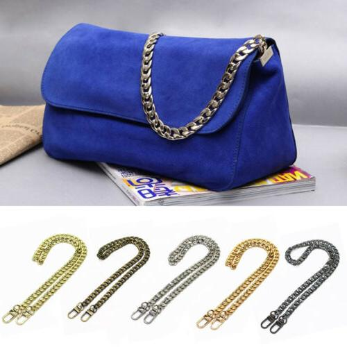 Metal Chain Strap Replacement Handle Shoulder Crossbody For