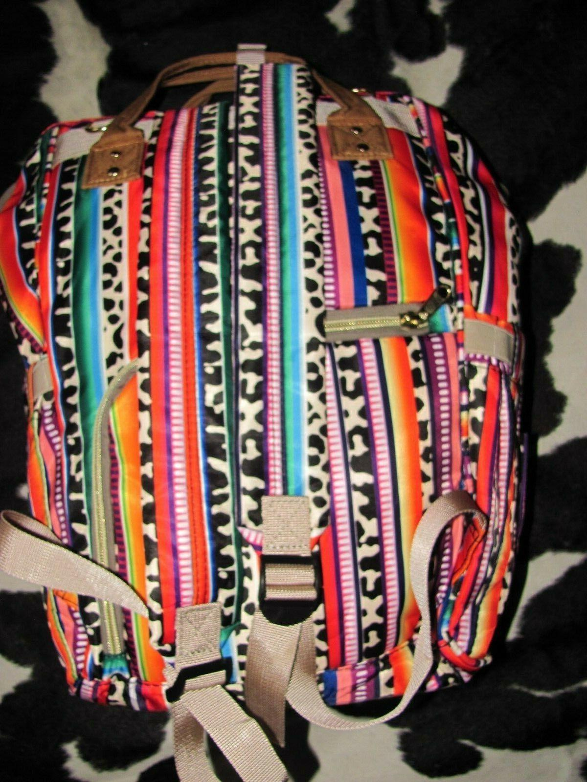SOUTHWEST BACKPACK DIAPER BAGS Size: CANVAS