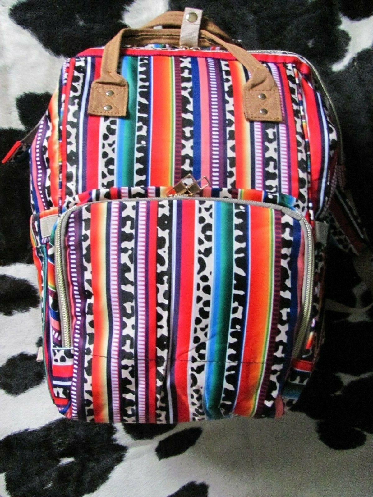 southwest pattern backpack style diaper bags brand