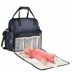 Large Diaper Bag Multi-Function Baby Travel Backpack Nappy T