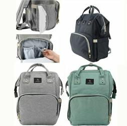 large mummy backpack baby diaper nappy bags