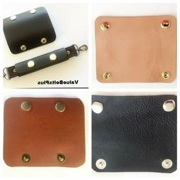 Leather Handle Wrap Strap Holder Pad for Luggage, Bags, Purs