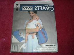 🌺  McCALL'S #9050 - DIAPER BAG TO CHANGING STATION BAG or