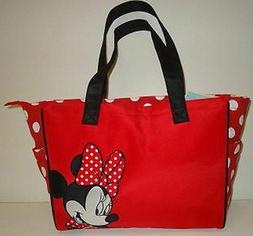 Minnie Mouse Red Polka Dot Tote Diaper Bag