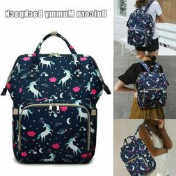 Mummy Diaper Bag Maternity Baby Nappy Backpack Waterproof Fr