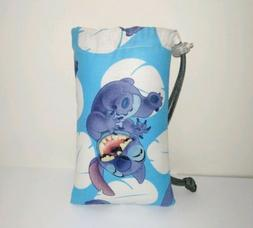"""NEW 4"""" X 6"""" Padded Pipe Bag / Pouch / Case / Glass Bowl Bag"""