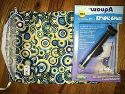 NEW Cloth Diaper Water Sprayer for the Toilet And Wet Bag fo