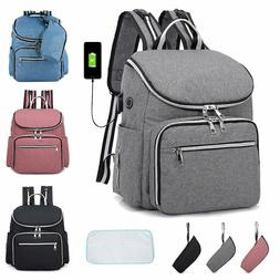 New Diaper Bag Baby Nappy Backpack Large Mummy Bag Changing