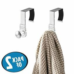mDesign Office Cubicle Hooks for Coats, Hats, Purses, Bags,