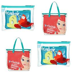 Oh My Disney Store Ariel Tote Bag and The Little Mermaid Pou